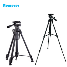 New arrival 3 sections Professional Tripod with 360 degree horizontal rotation base+phone holder for DSLR Cameras CANON NIKON