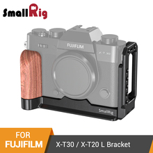 SmallRig X-T20 L-Bracket Plate for Fujifilm X-T20 and X-T30 Arca-Swiss Standard Side Plate+Baseplate L-Shape Mounting Plate-2357
