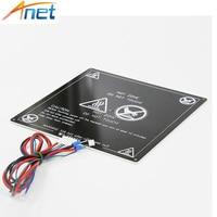 Anet A6 A8 MK3 12V Heatbed Aluminum Heated Bed 220mm 220mm 3mm MK2B MK2A For Mendel