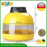 Stock AU UK Germany Small Brooder CE 10 Eggs Auto Incubator Mini Poultry Hatchery Machine
