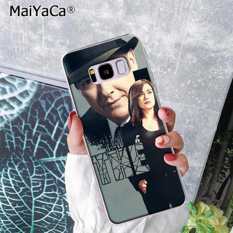 Maiyaca a lista negra caixa de telefone engraçado colorido bonito capa traseira para samsung s9 s9 plus s5 s6 s6edge s6plus s7 s7edge s8 s8plus