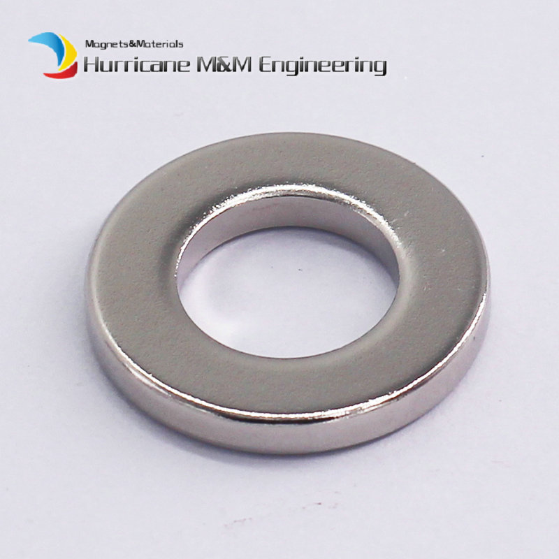 1 Pack NdFeB Magnet Ring OD 22x12x3 (+/-0.1)mm Dia. 0.87 Strong Neodymium Permanent Magnets Rare Earth Magnetic Tube Precision ndfeb n42 magnet large disc od 100x10 mm with m10 countersunk hole 4 round strong neodymium permanent rare earth magnets