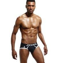 JOCKMAIL Men Underwear Mesh Qucik-Dry Sexy Men Briefs Breathable Mens Slip Cueca Male Panties Underpants Briefs Gay Underwear
