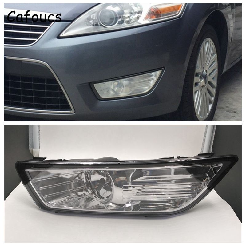 цена на Cafoucs For Ford Mondeo 2007-2010 Car Front Bumper Fog Light With H11 12V 55W Bulbs BS71-15K202-AB