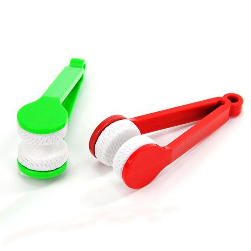 Cepillo de Limpieza de microfibra Gafas gafas de Sol Portátil Mini Limpiador de