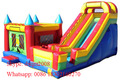 New design Bounce House Trampoline Inflatable Bouncer Jumping Bouncy Castle Inflatable Slide on Hot Sale