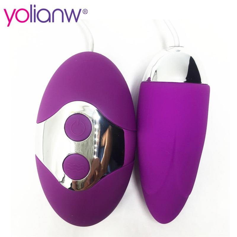 Yolianw Waterproof Wired Double Vibrator Kegel Balls -1713