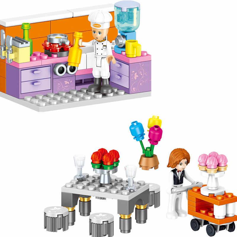 731 cái Tương Thích với Lego Công Chúa Windsor của Castle DIY Khối Xây Dựng Mô Hình Kit Đồ Chơi Cô Gái Sinh Nhật Quà Tặng Giáng Sinh