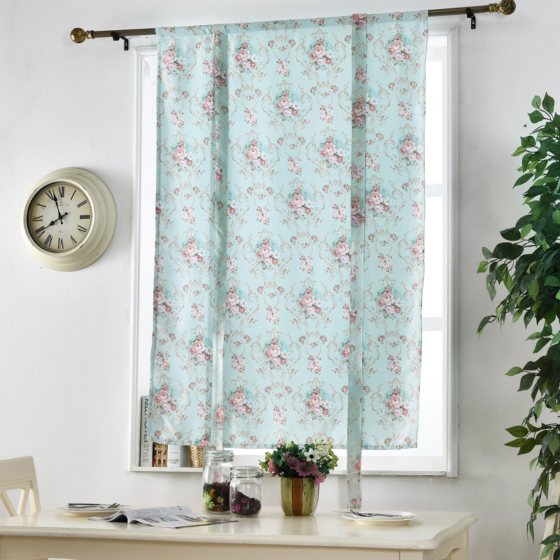 Blinds Room Roman Door Modern Bedroom Treatments Curtains Floral Living Short Panel Window