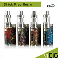 100% Original Eleaf iStick Pico RESIN Kit with istick pico resin vape mod 2ml melo iii mini atomizer fit 18650 battery