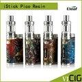 100% original kit resina com istick eleaf istick pico pico resina mod vape 2 ml melo iii mini atomizador fit 18650 bateria