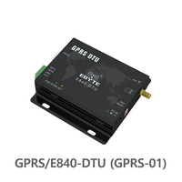 01 E840-DTU (GPRS-01) GPRS משדר מודול RS232 RS485 GSM אלחוטי משדר Quad-band 850/900/1800 / 1900MHz מודול השפופרת (1)