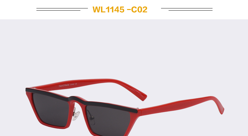 HTB140aecnnI8KJjSszgq6A8ApXaV - Winla Fashion Design Women Sun Glasses Flat Top Sunglasses Square Frame Classic Shades Vintage Eyewear Oculos de sol WL1145