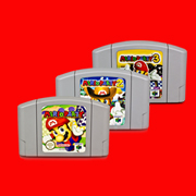 Marioed Party 1/2/3 NTSC English Version 64 Bit Game Console Cartridge marioed party 1 2 3 ntsc english version 64 bit game console cartridge