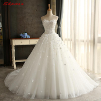 Lace Wedding Dress Ball Gown Sweetheart Tulle Wedding Gowns Weeding Weding Bridal Bride Dresses Weddingdress vestido de noiva