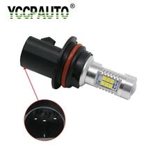 Супер яркий 1 шт. 9007 HB5 светодиодный Противотуманные фары Дневные Фары Светильник s 2835 SMD 21 светодиодный Белый Автомобильный светильник источник вождения авто лампы высокой Мощность 12 V-24 V