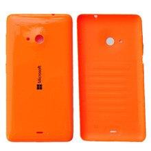 Newest For Nokia Microsoft Lumia 535 Plastic Battery Cover Rear Housing Back Case Housing stylish protective plastic back case for nokia lumia 1020 white