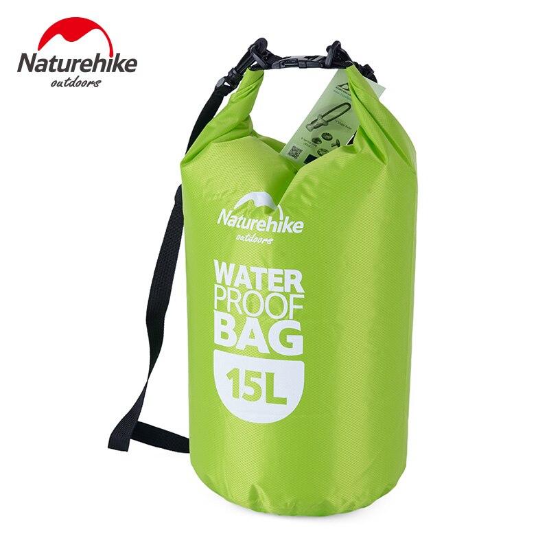 15L Waterproof Dry Bag Canoe Kayaking Outdoor Camping Swimming Hiking Sack Bags