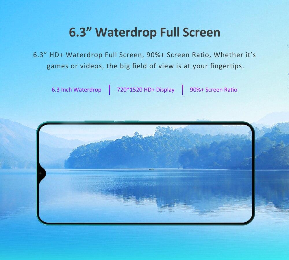 "HTB140bNXQY2gK0jSZFgq6A5OFXao LEAGOO S11 4GB 64GB Mobile Phone Android 9.0 6.3"" Waterdrop Display Helio P22 Octa Core 13MP Dual Camera Fingerprint Smartphone"