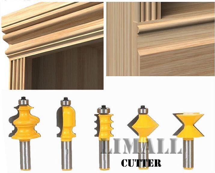 SHK:1/2 Door Cabinet Line Woodworking Cutter Knife Lace Top Line Engraving Carving Knife-5pcs/set  цены