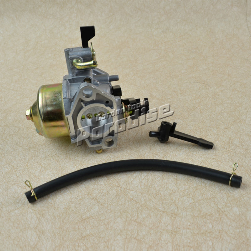 168F 170F GX160  Engine Water Pump Carburetor with Fuel Pipe without Cup 3 inch gasoline water pump wp30 landscaped garden section 168f gx160 agricultural pumps