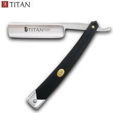 Titan navalha de barbear afiada já navalha reta para homem frete grátis