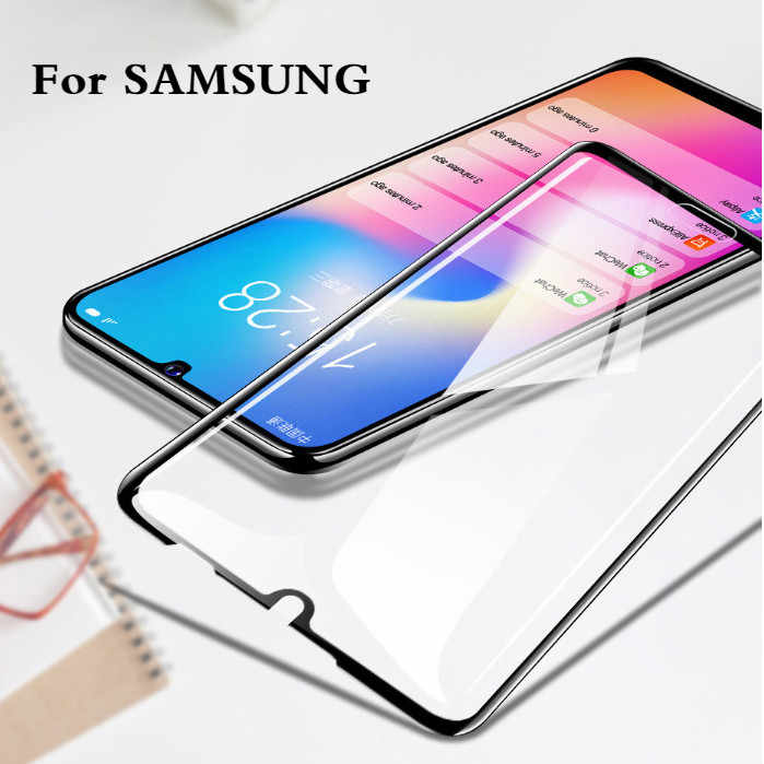 Tempered Glass For Samsung A30 A50 A60 Protective Film on Galaxy A20 A40 A60 A70 A80 A90 Case Cover For Samsung J4 J6 A6 A8 A750