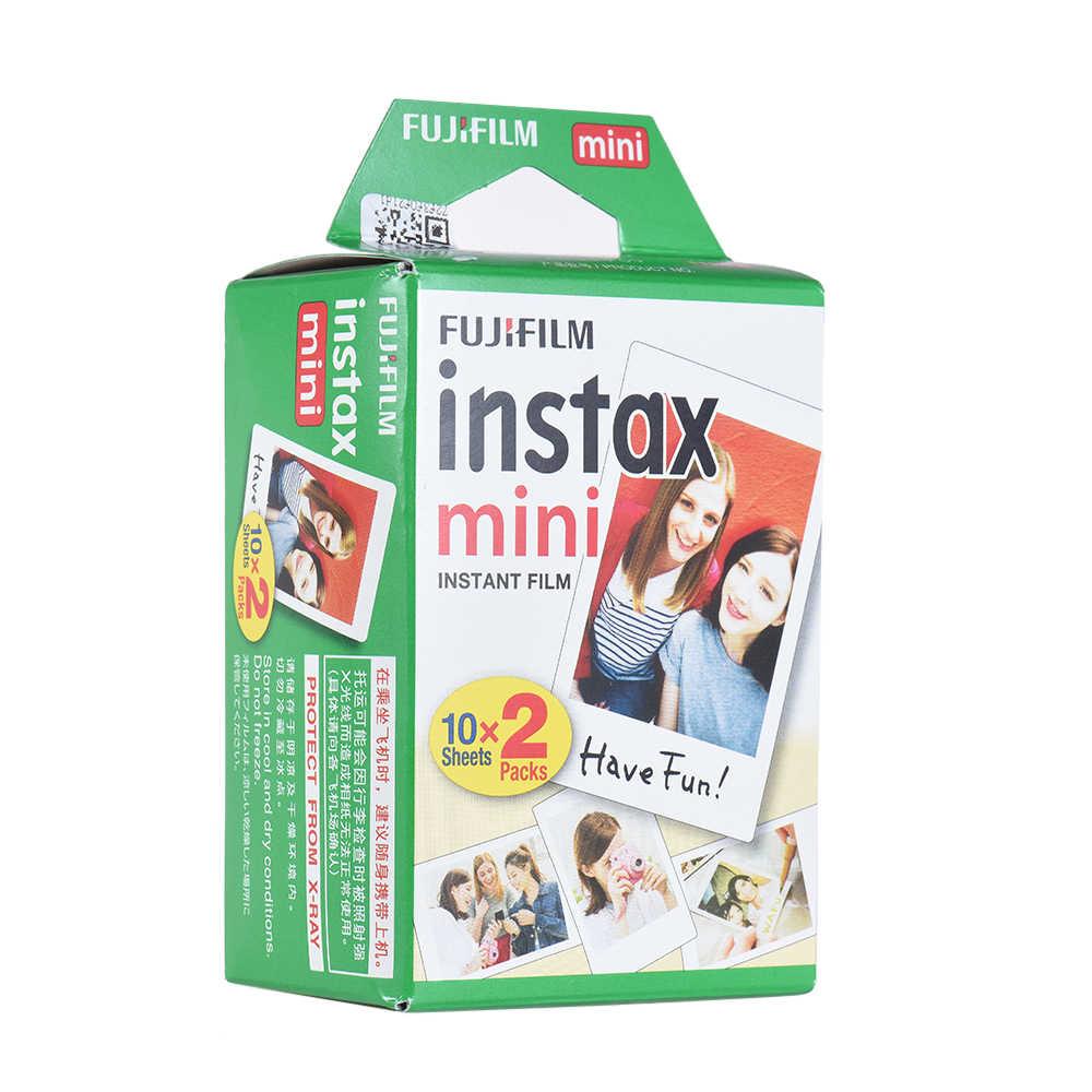 Fujifilm Instax Mini 100 arkusze biała folia papier fotograficzny migawka Album natychmiastowy druk dla Fujifilm Instax Mini 8/Mini9/7s/25/90
