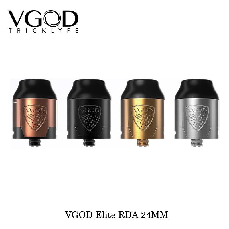 Nouvelle Arrivée D'origine VGOD Elite RDA Réservoir 2 ml Atomiseur Capacité 510 fil Fit Pour VGOD Pro Mech Mod Elite Mod Pro 150 w vaporisateur