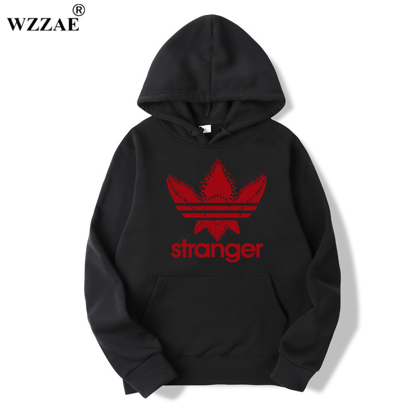 18 Brand New Fashion Stranger Things Cap Clothing Hooded Sweatshirt hoodies Men/Women Hip Hop Hoodies Plus Size Streetwear 12