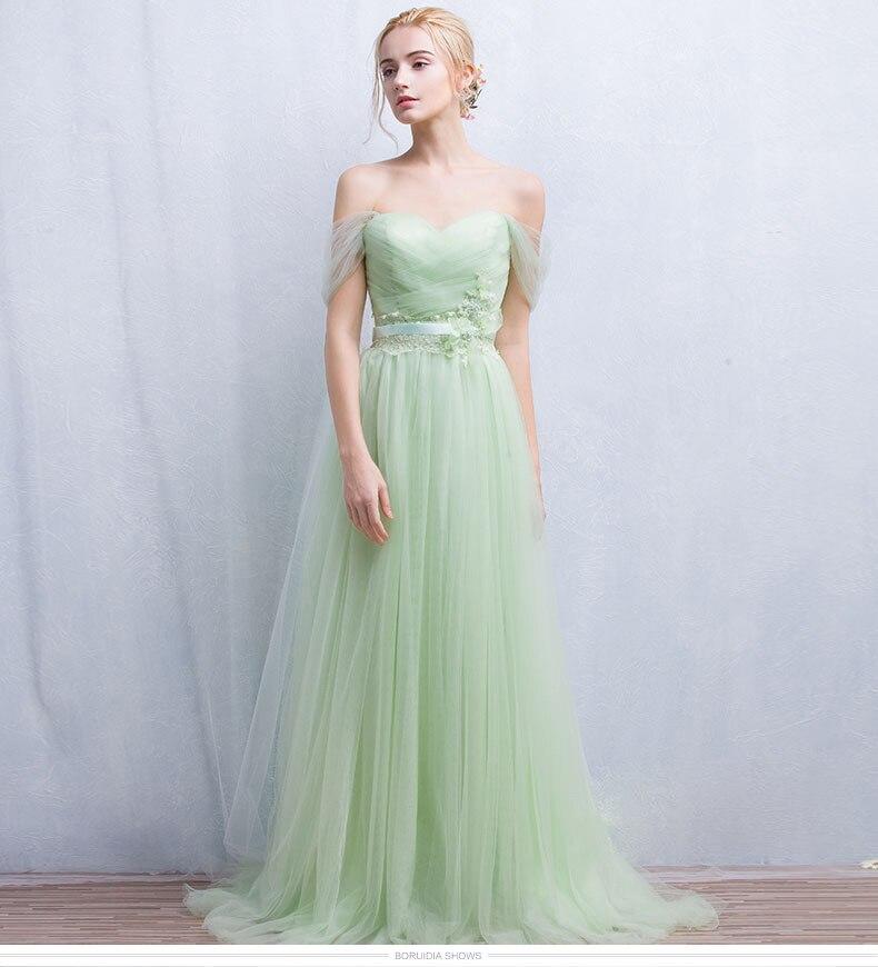 Vestido cerimonia verde menta
