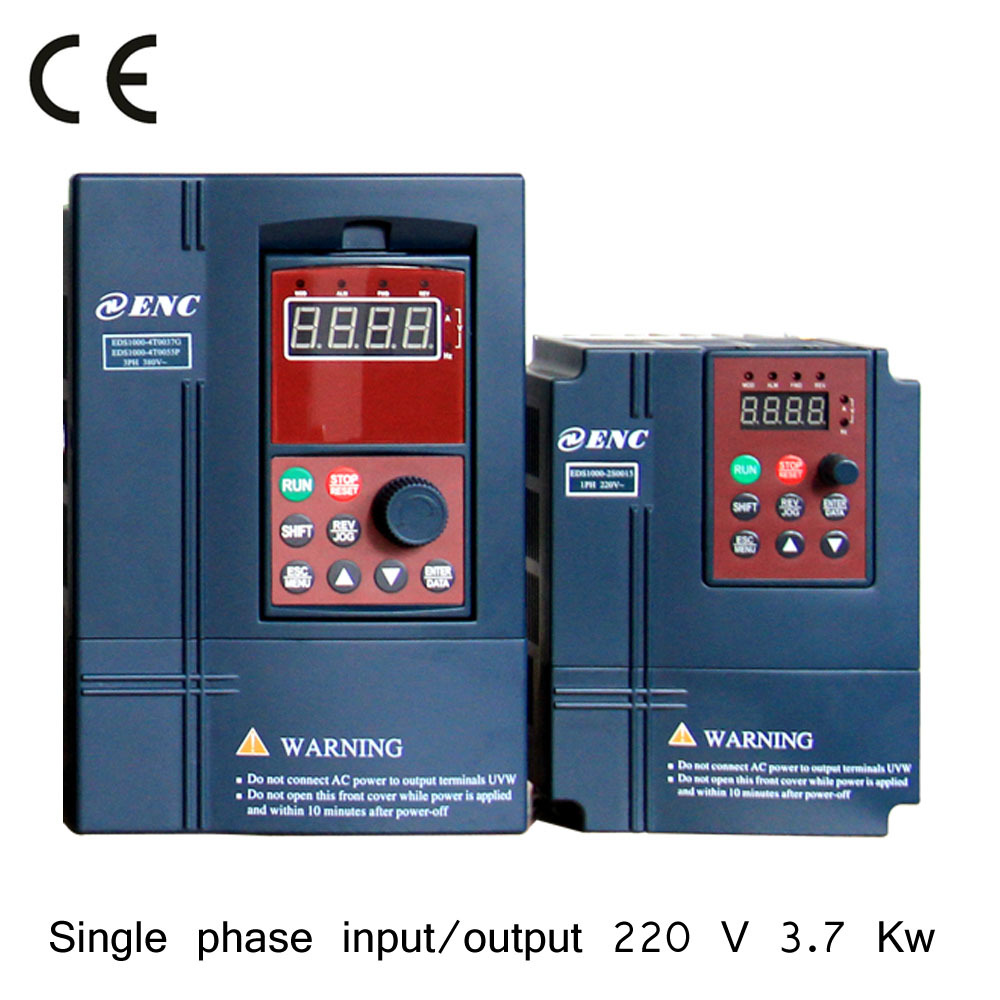 single phase MOTOR 3.7 kw ac drive-in Inverters & Converters from ...