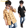 Kindstraum 2016 Spring & Autumn Boy Fashion Cotton Coat Kid Handsome Outwear Child Solid  Windbreaker Style Jacket,MC129