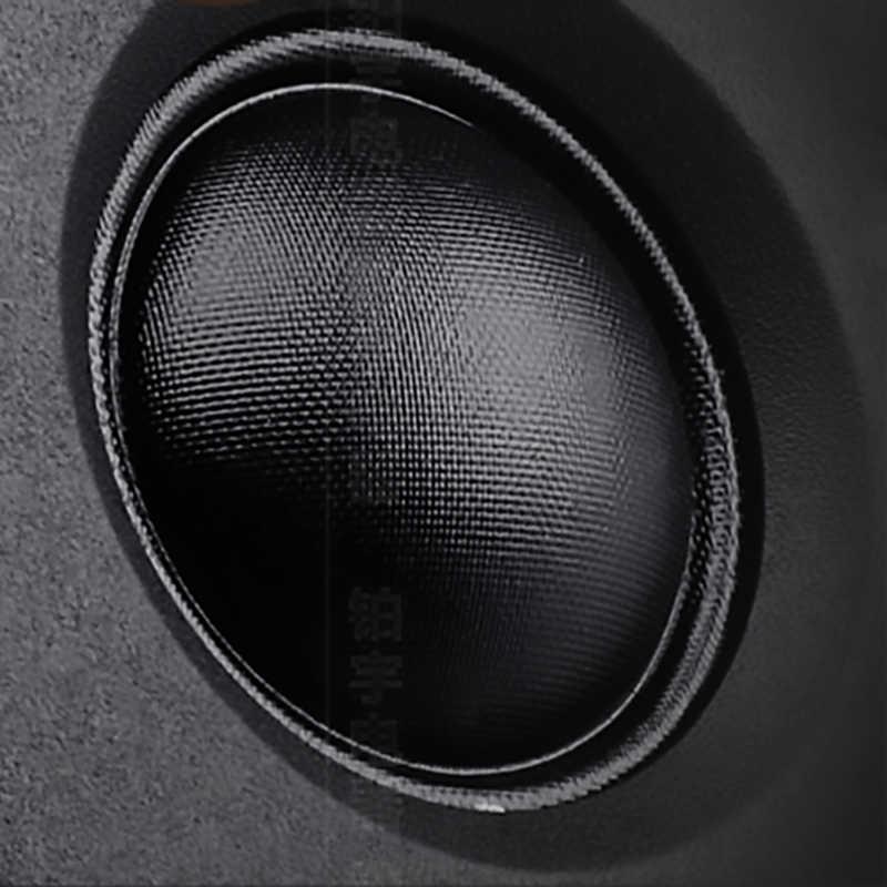 2 шт. шелковая пленка твитер динамик 6ohm 30 Вт 80 Вт ВЧ звуковой сигнал Куполообразной формы HIFI 25 core HIFI NdFeB автомобильные твитеры Ультра Звук громкий динамик s