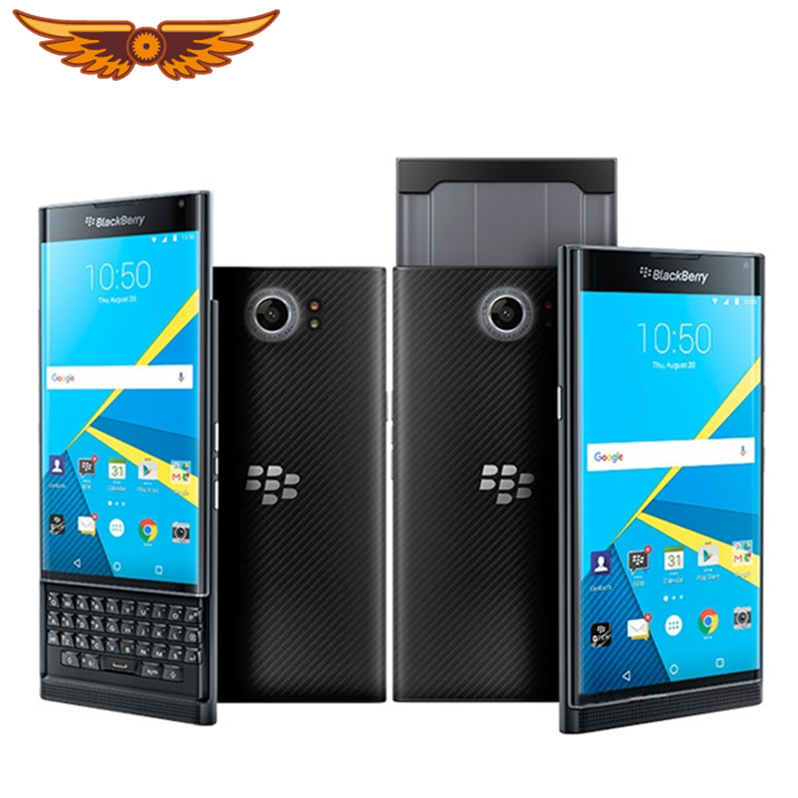Original Unlocked BlackBerry Priv 5.4 Inches Hexa-core 3GB RAM 32GB ROM 18MP QWERTY Keyboard Android OS Refurbished Cellphone(China)