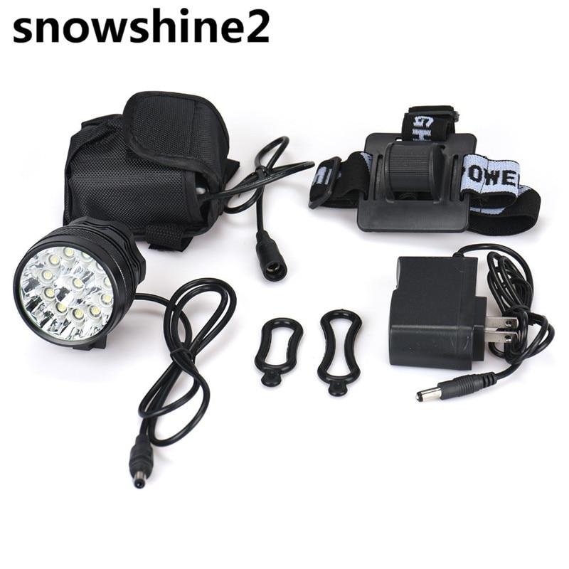 snowshine2 #5001 bike light 32000LM 13 x 2017 XM-L T6 LED 6 x 18650 Bicycle Cycling Light Waterproof Lamp wholesale dd