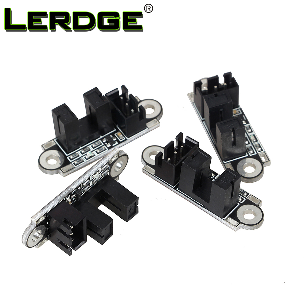 LERDGE Optical Endstop 3D Printer Parts Optical Switch Sensor Photoelectric Light Control Limit Switch Module with 1M Cable 6pcs ramps 1 4 optical endstop limit light control switch 3d printer new h02