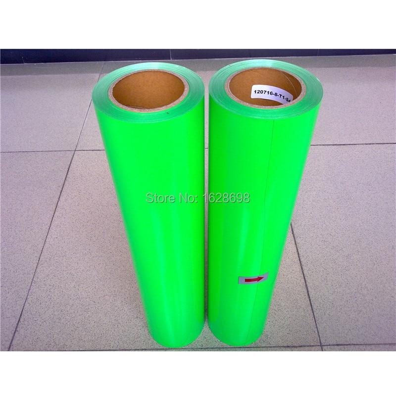 Cdu 31 Neon Green Color T Shirts Transfer Vinyl Heat Press Pu Vinyl