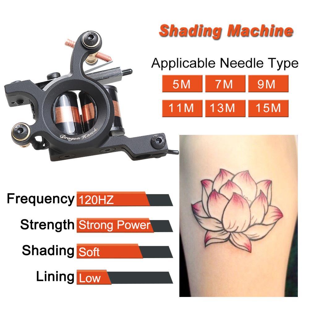 Novi stil Stručni Iron Tattoo stroj Wrap zavojnice podstava - Tetovaže i tjelesna umjetnost - Foto 5