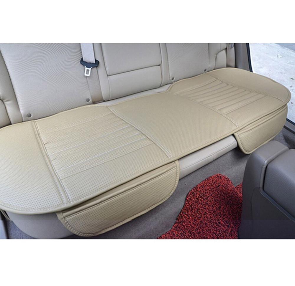Универсальный ПУ Длинные Сзади автокресло Подушки подкладке Чехлы площадку Коврики для авто кресло