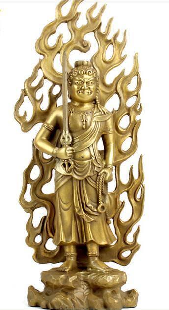 Pure copper fixed Ming king bodhisattva statue of Buddha statuePure copper fixed Ming king bodhisattva statue of Buddha statue