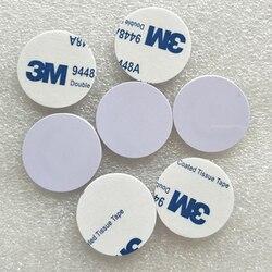 Durchmesser 25mm I-CODE2 Geld Münze Karte I-CODE Münzen Label, ISO15693 ICH CODE2 PVC tags mit 3M kleber