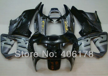 Fairing Aftermarket Kit For CBR900RR 893 94-95 1994 1995 Silver and Black Motorcycle Fairings