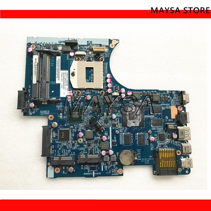 Carte mère d'ordinateur portable pour Hasee pour Clevo pour dieu de la guerre w650SJ 6-77-W650SJ00-D01 carte mère 6-71-w65J0-d01 DDR3 100% testé OK