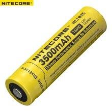 Nitecore NL1835 18650 3500mAh (yeni sürüm NL1834)3.6V 12.6Wh şarj edilebilir ı ı ı ı ı ı ı ı ı ı ı ı ı ı ı ı ı ı ı ı pil yüksek kalite ile koruma