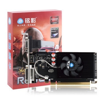 New Original Desktop Graphics Card HD6450 2G D3 625/1066MHZ Independent Game Video Card New R7-350 2G DDR5 card free shipping