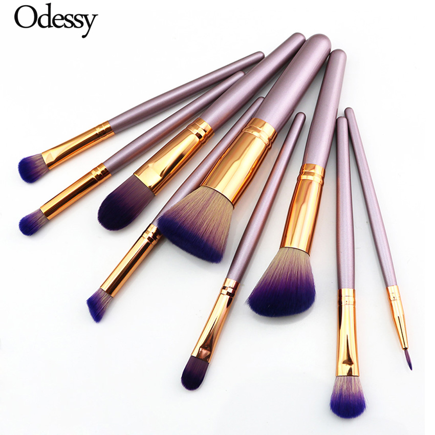 9 Pcs Professional Unicorn Makeup Brushes Set Beauty Cosmetic Eyeshadow Lip Powder Face Pinceis Tools Kabuki Kwasten Brush Kits 10 15 pcs professional mermaid makeup brush set eyeshadow lip brush eye beauty tools for women cosmetic brushes kits