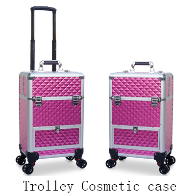 Cosmetic Case Trolley Professional Makeup Artist Multi-layer Beauty Luggage Large-capacity Multi-function Nail Tattoo Toolbox