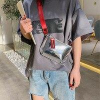 Прозрачная поясная сумка для девочек, лазерная поясная сумка, модные нагрудные пакеты, повседневные дорожные поясные мешочки для телефона, ...