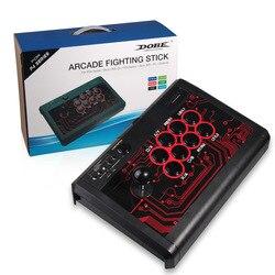 USB przewodowy sterownik do gier zręcznościowa walka Joystick Stick na PS3 PS4 Xbox one 360 android pc Joystick kontroler do gry|Części zamienne i akcesoria|   -